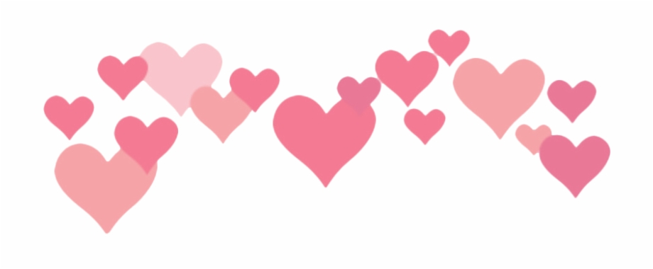 Transparent Mac Hearts Editan Foto Love Untuk Picsart.