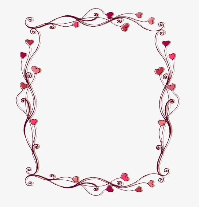 Love Frame Clipart.