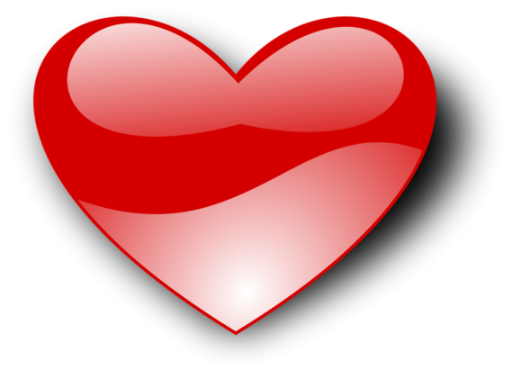 Free Clip art of Heart Clipart Transparent Background #860 Best.