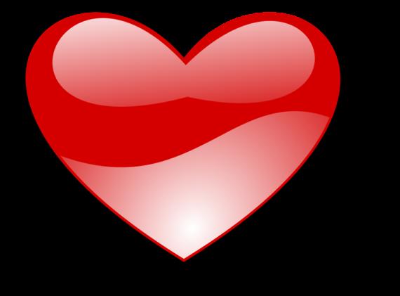 Free Clip art of Heart Clipart Transparent Background #860 Best.
