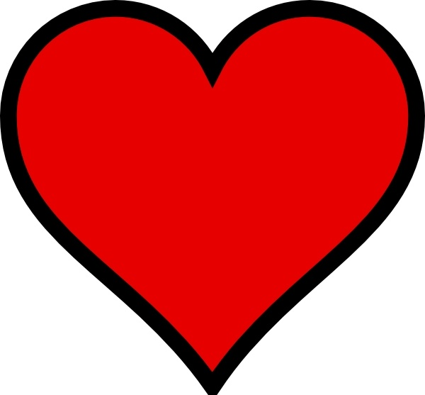 Heart, love, clipart png #44625.