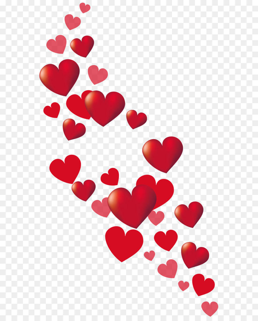 Heart Pattern Background png download.