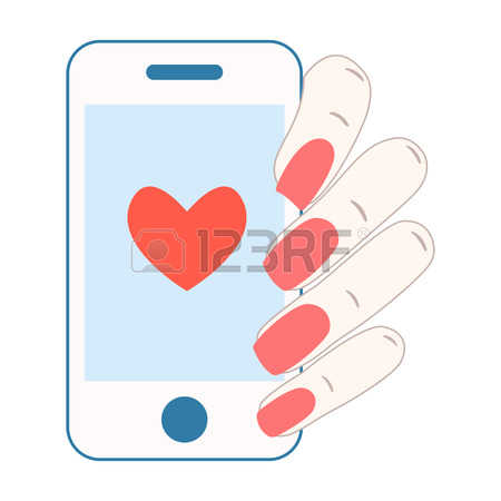 Clipart sms love.