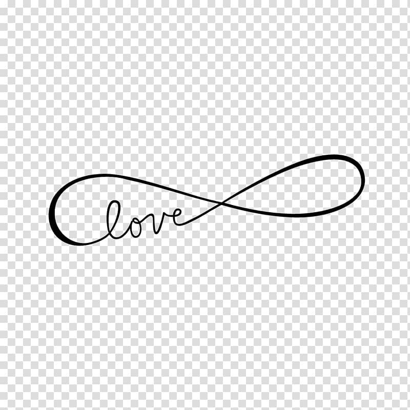 Love infinity , Sticker PicsArt Studio Brand Text, infinity.
