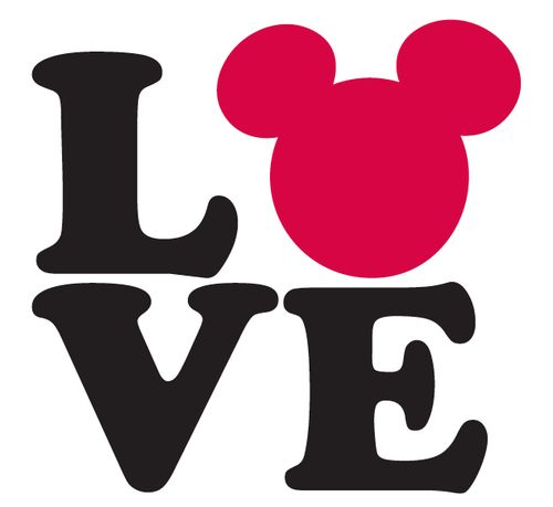 Mickey Mouse Love.