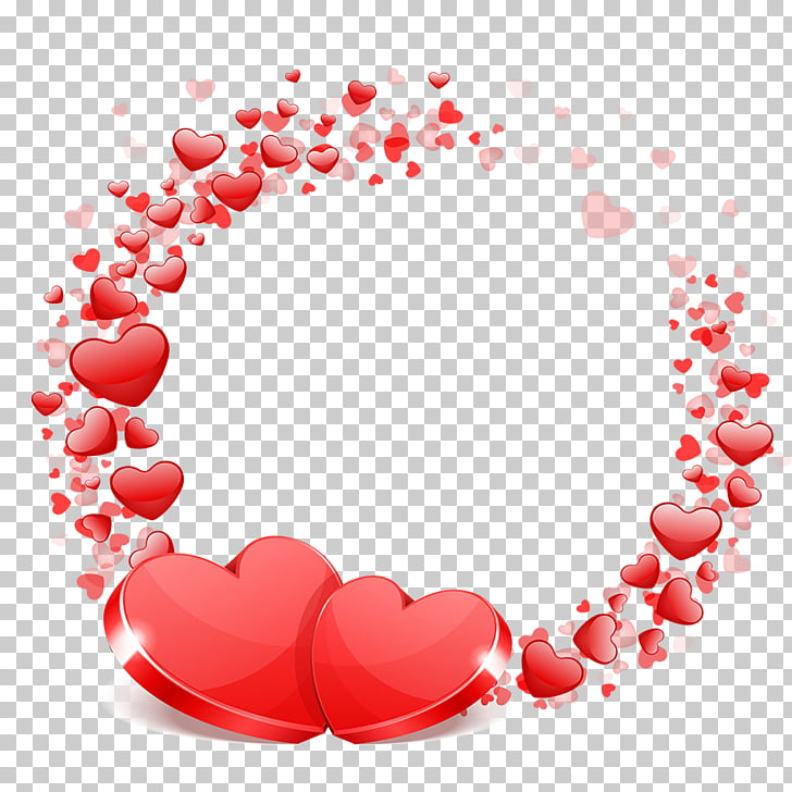 Wedding Valentine\'s Day Heart Wish, Wedding love, red hearts.