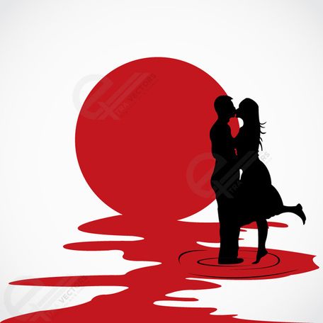 Love couple clipart - Clipground