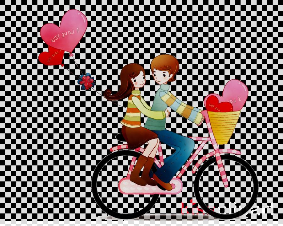 Love Couple Heart clipart.