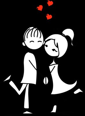 Love Couple Clipart Images.