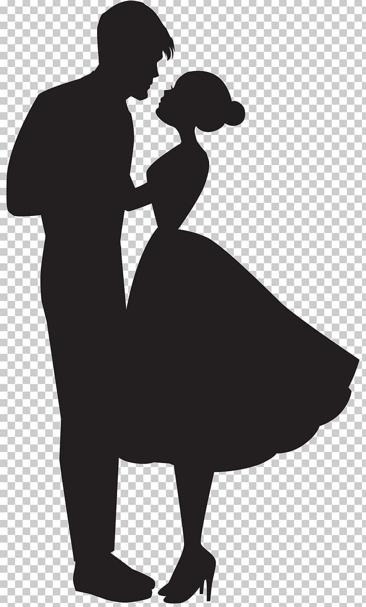 Love Couple Silhouette PNG, Clipart, Black, Black And White.