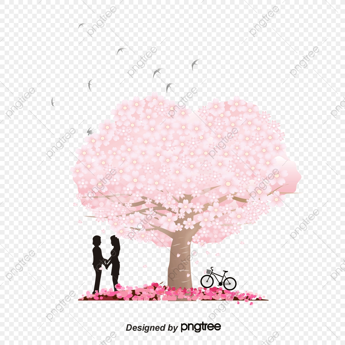 Red Love Couple, Vector, Love, Lovers PNG and Vector with.