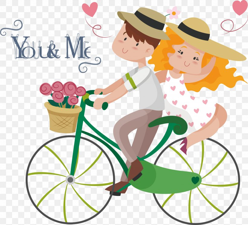 Love Couple Sticker Marriage Illustration, PNG, 3440x3119px.