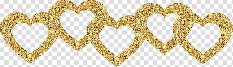 Euclidean Vexel, Gold Love Design transparent background PNG.