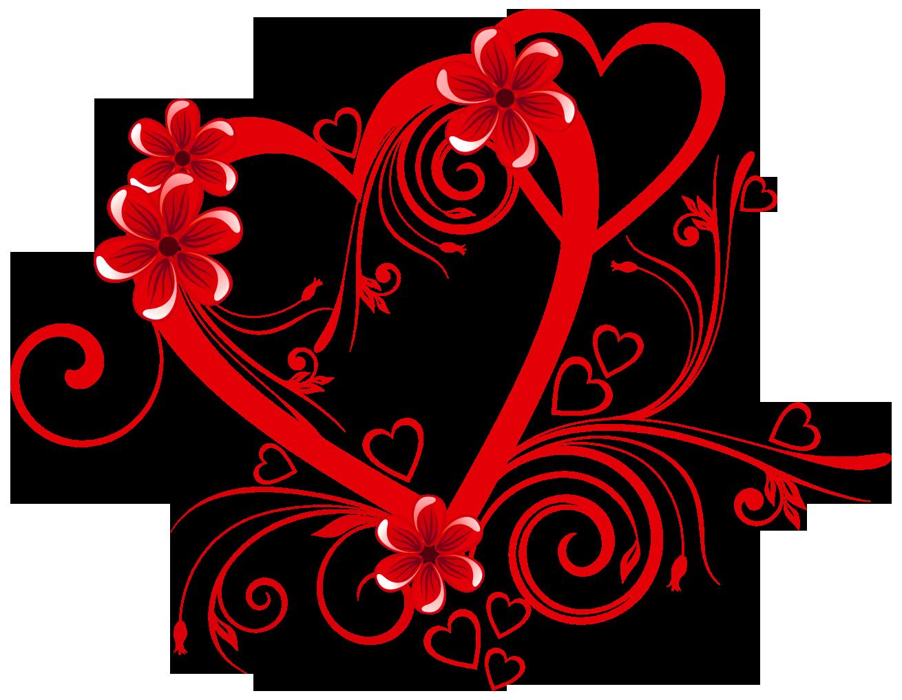 Love flowers clipart.