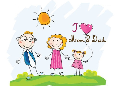 Happy Parents D Day 2014 HD Wallpapers, WhatsApp Images, Facebook.