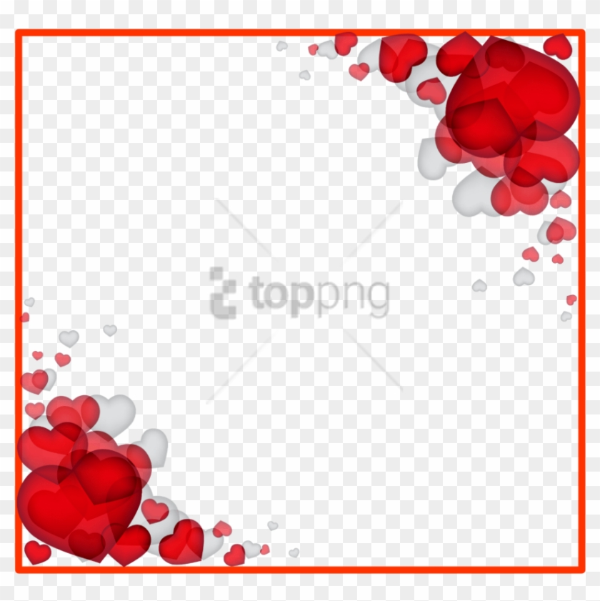 Free Png Love Border Frame Png Image With Transparent.