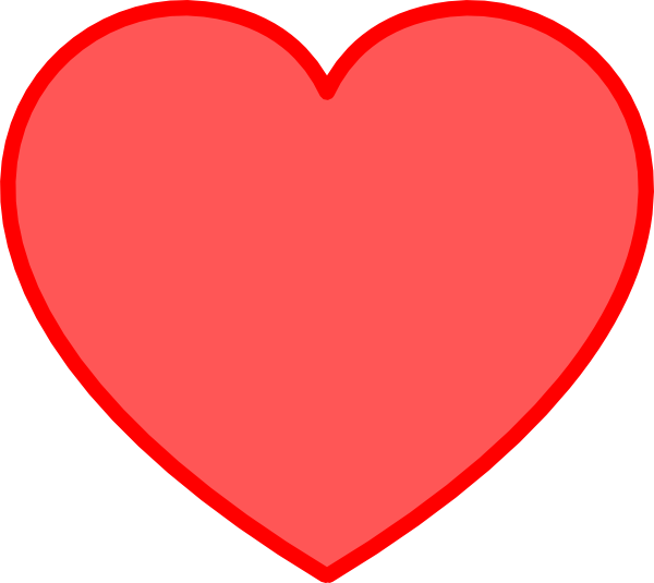 Love Heart Clipart.