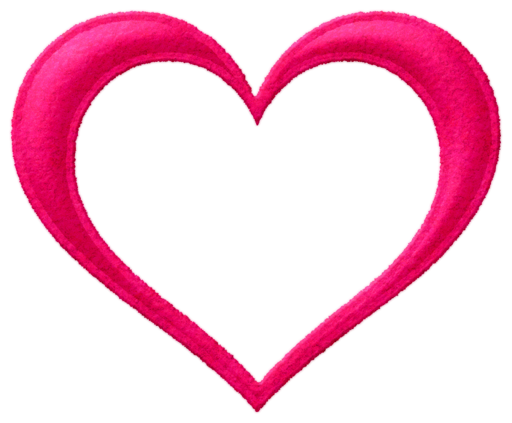 Heart Love PNG Free Download.