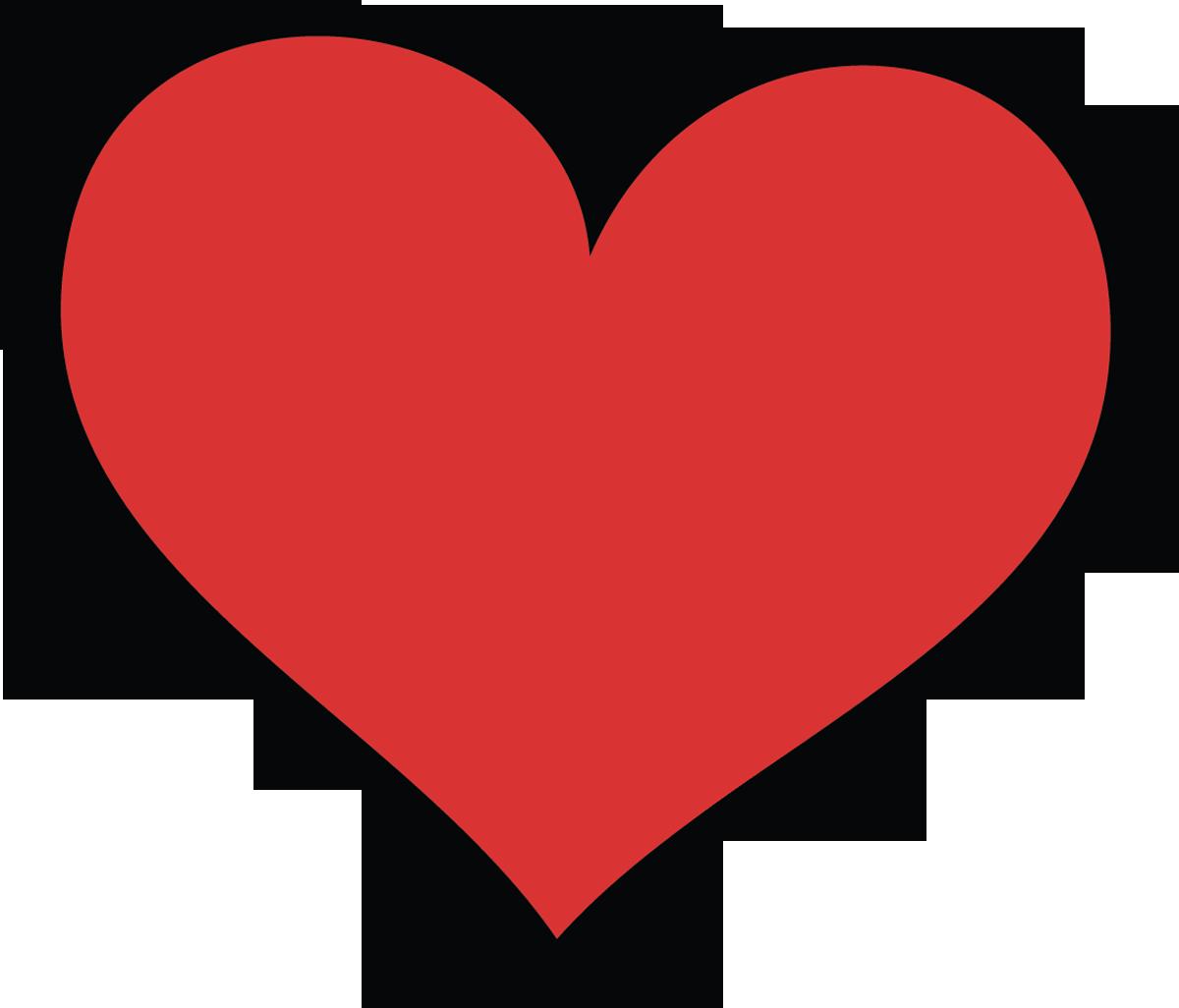 Clipart Love Heart Buncee Clipart Hearts 08.