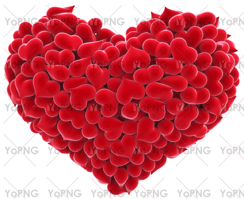 love hearts png image free download for design.