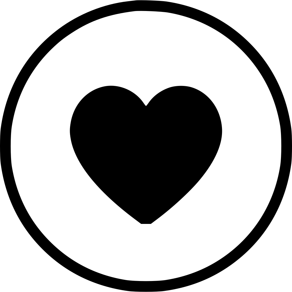 Like Love Heart Round Romantic Ui Svg Png Icon Free Download.