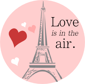 Love Is In The Air Eiffel Tower.