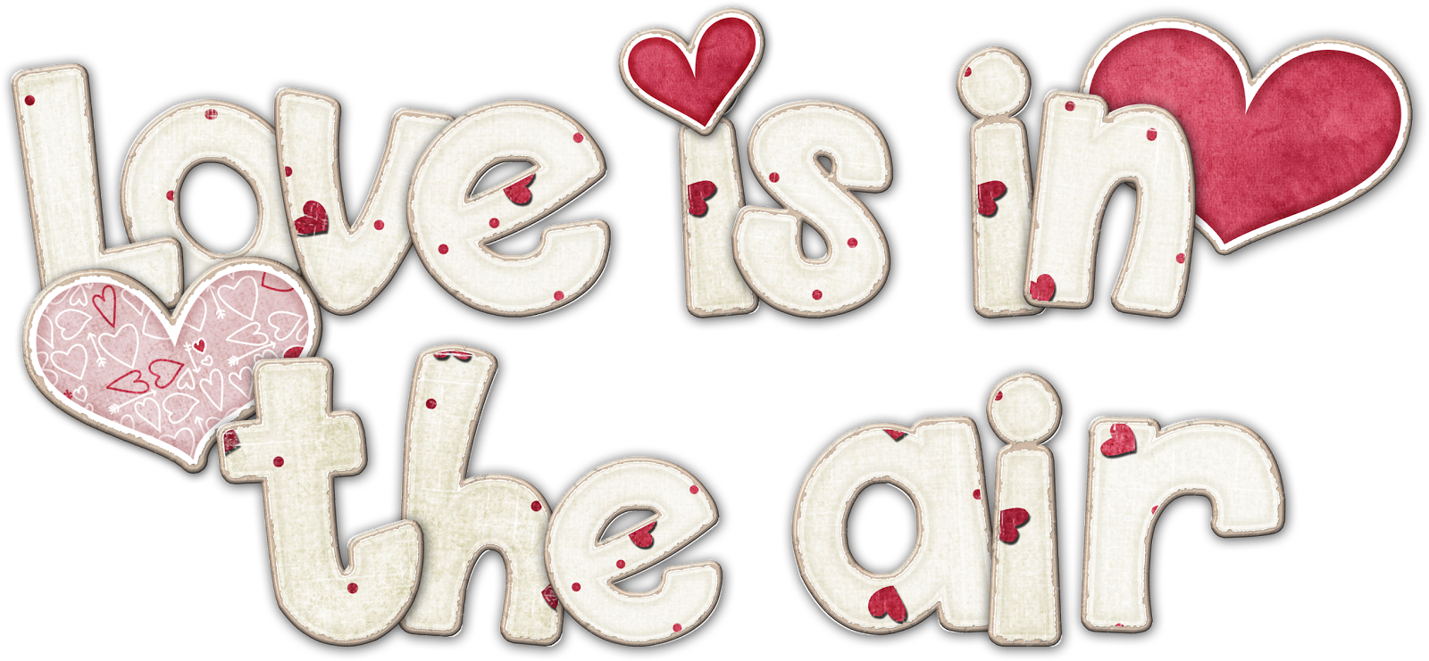 Love is in the air clipart.