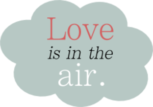 Love Is in the Air Clip Art.