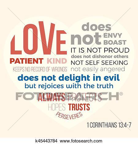Bible verse for evangelist, 1 corinthians 13 4.