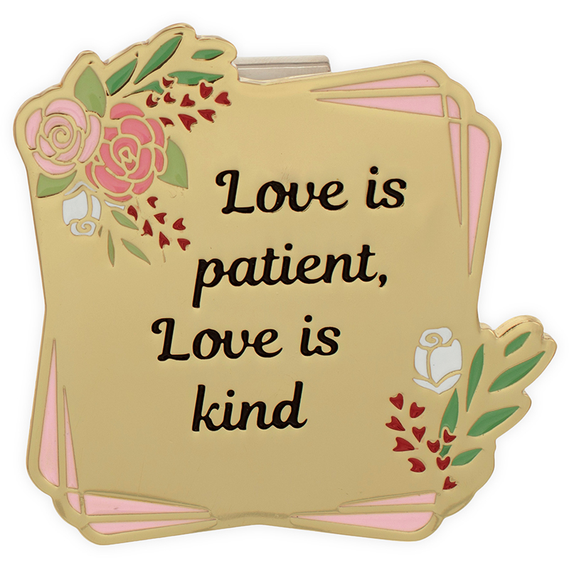Love Is Patient, Love Is Kind Visor Clip.