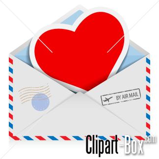 CLIPART LOVE LETTER.