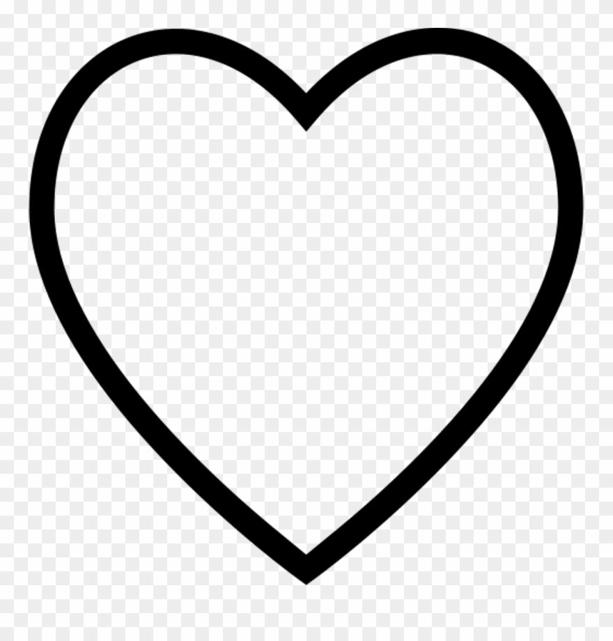Heart Herz Symbol Symbole Black White Blackheart Freeto.