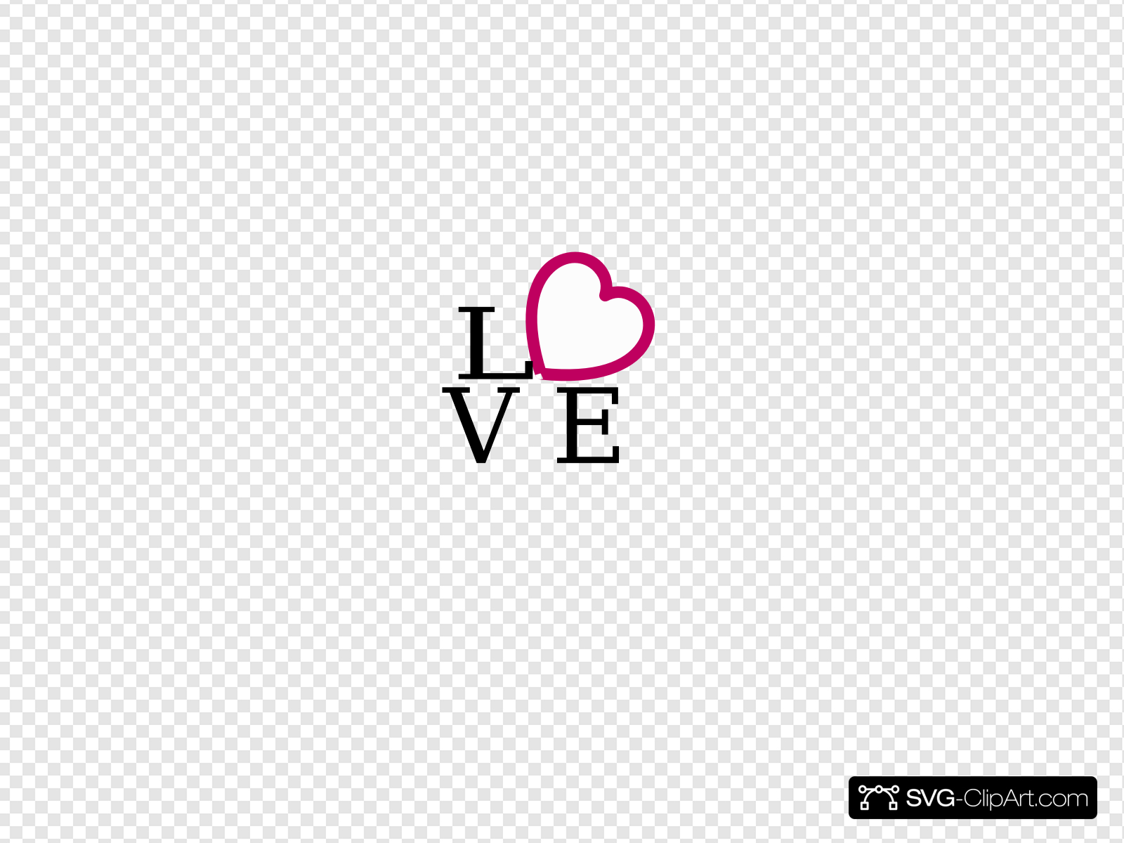 Love Logo Clip art, Icon and SVG.