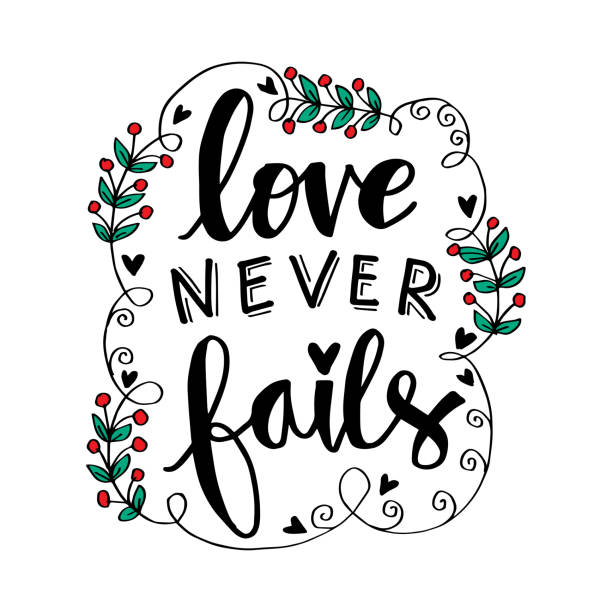 Love Never Fails Illustrations, Royalty.