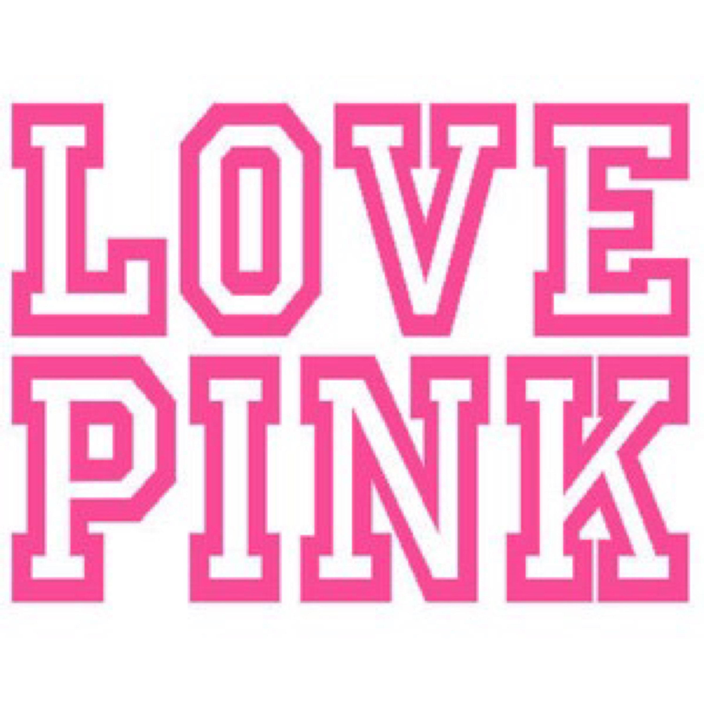 Vs pink Logos.
