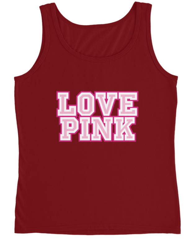 Love Pink Ladies\' Graphic Tank.