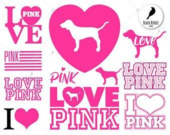 Love Pink Victoria Secret Logo.