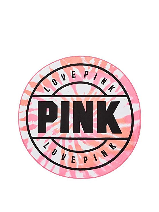Amazon.com: Victoria\'s Secret PINK Round Circle Beach Towel.