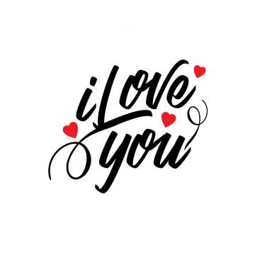 I Love You Png, Vector, PSD, and Clipart With Transparent.