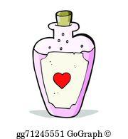 Love Potion Clip Art.