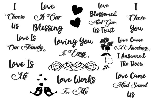 Love Quotes with Clipart.