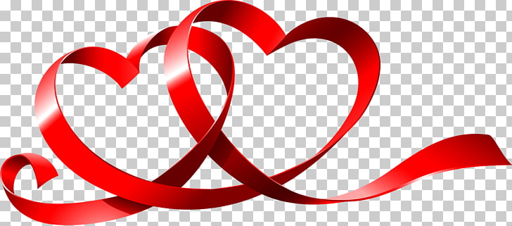 Valentines Day Love Romance Wish Girlfriend, Love ribbon PNG.