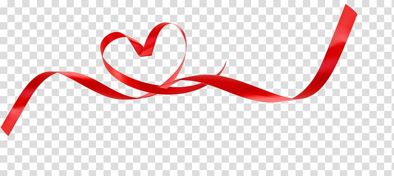 Ribbon Love transparent background PNG cliparts free.