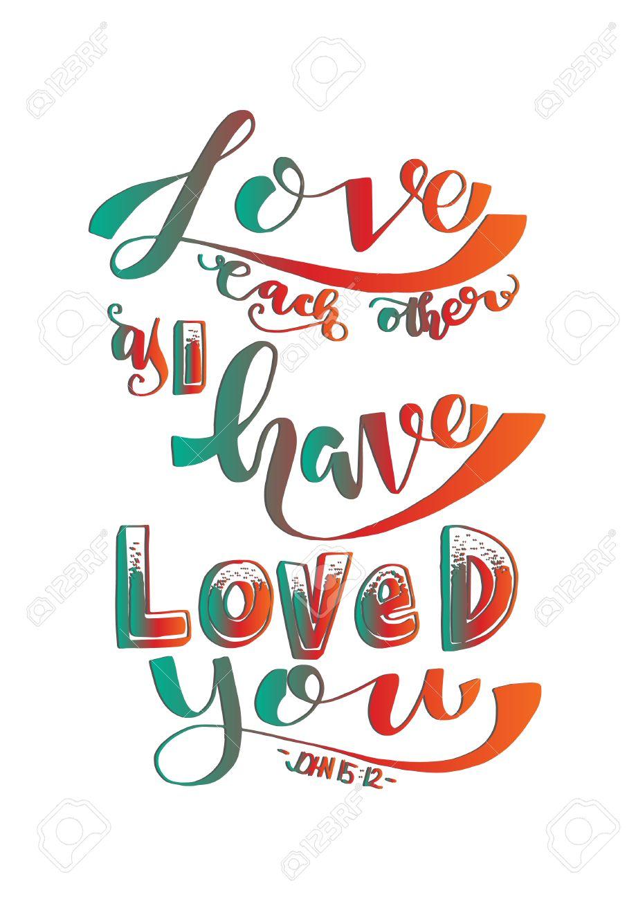 Love Bible Verse Clipart.