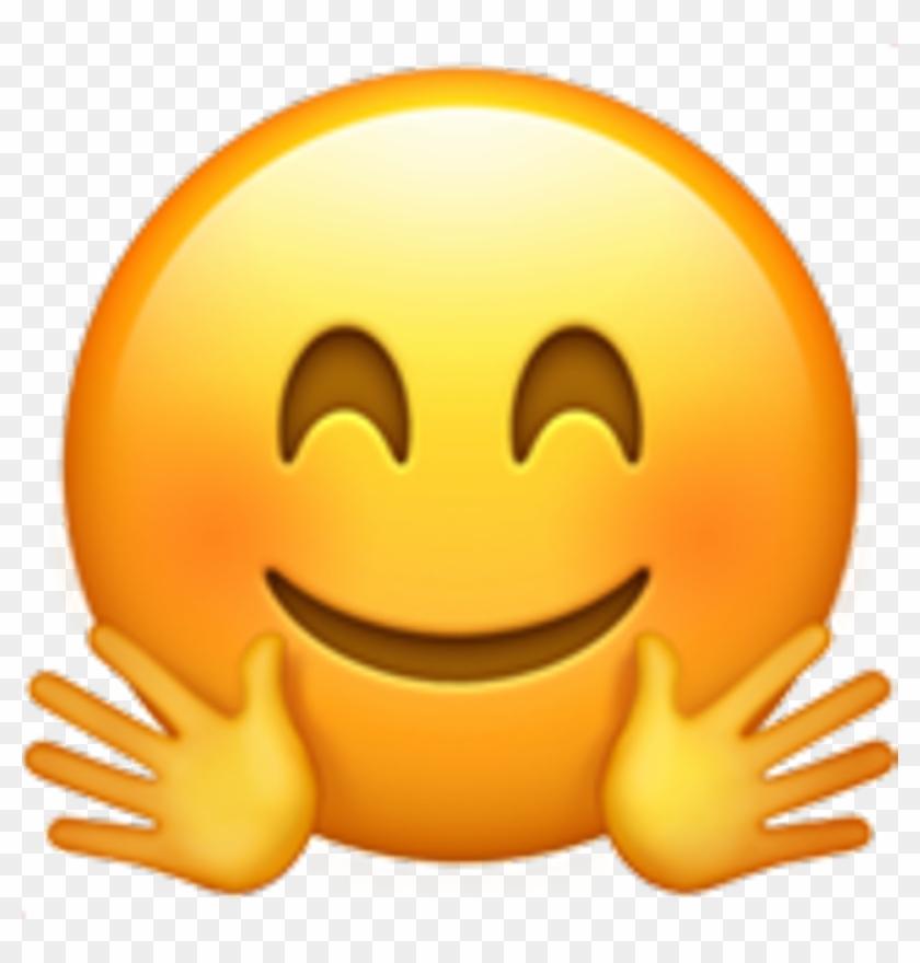 Emoji Smiley Face Smile Fun Heart Black Love Puppy, HD Png.