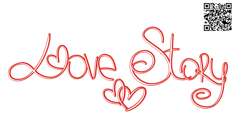 Free Clipart: Love story.