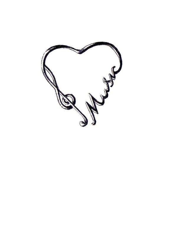 Love Music Tattoo Design By Jsings On Deviantart.