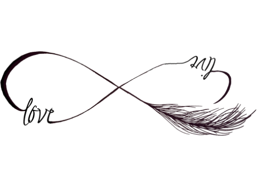 Download Love Tattoo PNG Clipart.