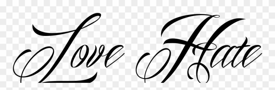 Love Tattoo Png Picture.