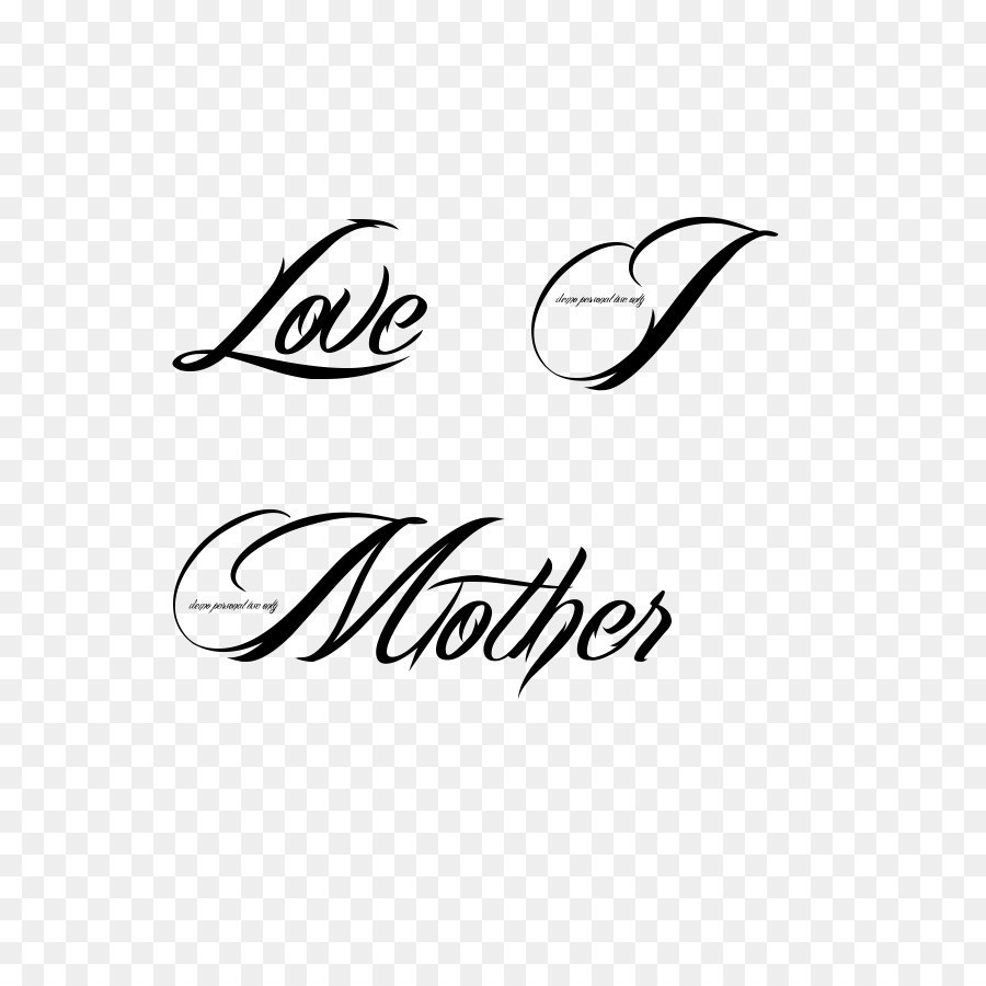 Tattoo Love Mother Heart Font Images Of Love Tattoos Png.